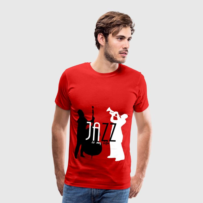 jazz is my life T-shirt - Maglietta Premium da uomo