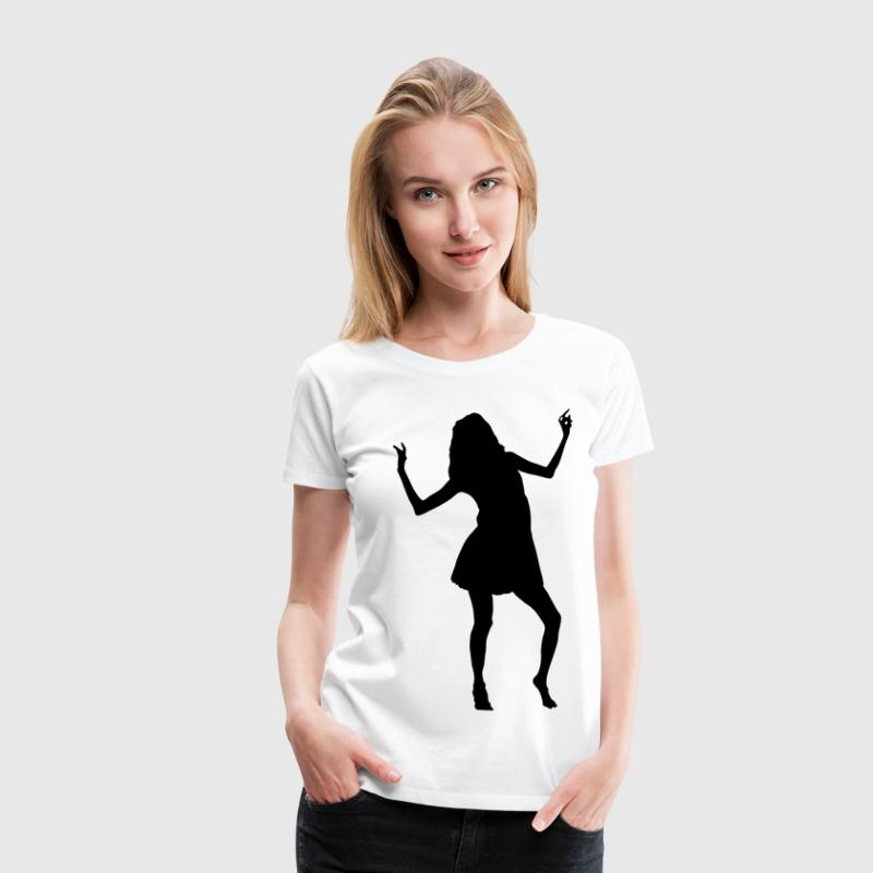 girl woman dance music model sexy sex bachelorette party Tee shirts - T-shirt Premium Femme