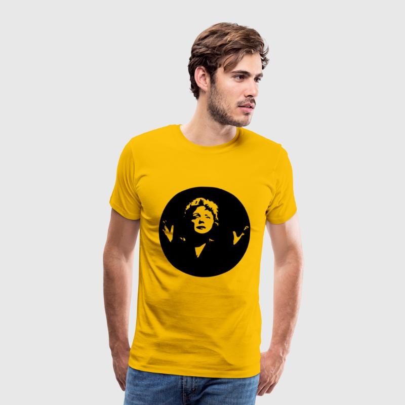 Edith Piaf - Men's Premium T-Shirt