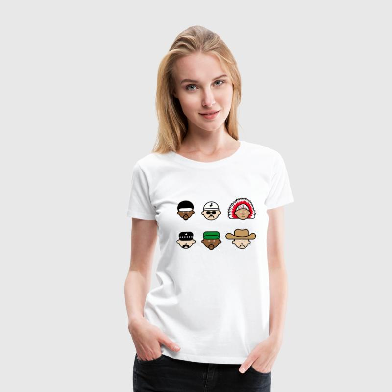People from the village T-Shirts - Women's Premium T-Shirt