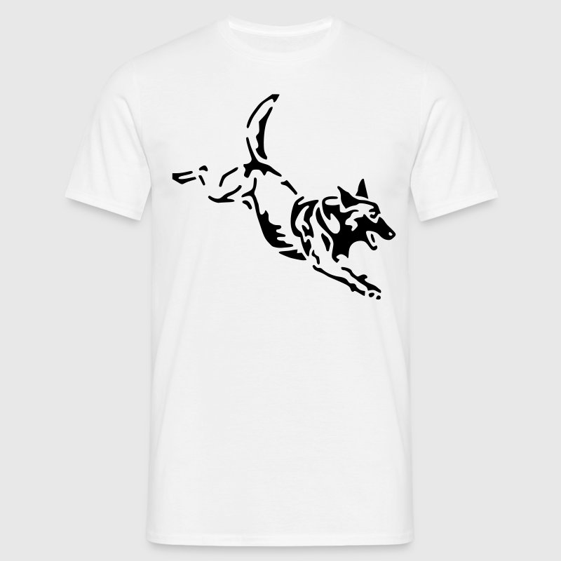 malinois cheval Tee shirts - T-shirt Homme