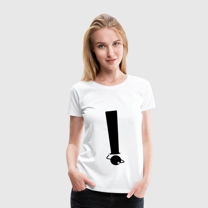 ! Point d'exclamation - T-shirt Premium Femme