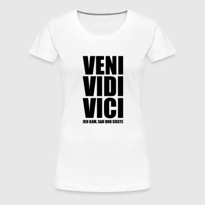 suchbegriff 39 ich kam sah 39 geschenke online bestellen spreadshirt. Black Bedroom Furniture Sets. Home Design Ideas
