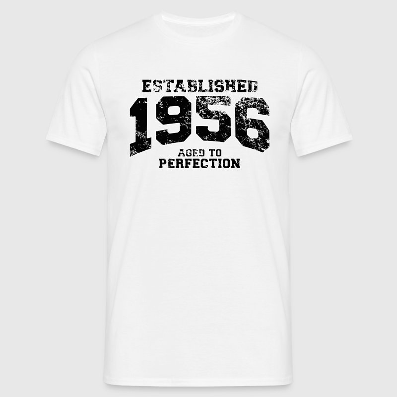 established 1956 - aged to perfection(uk) T-Shirts - Men's T-Shirt