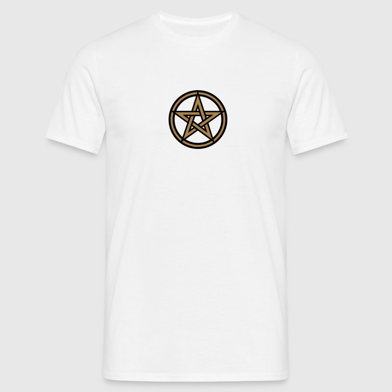 Pentagram amulet- Sign of intellectual omnipotence and autocracy. 2c, Star of the Magi , powerful symbol of protection T-Shirts - Men's T-Shirt
