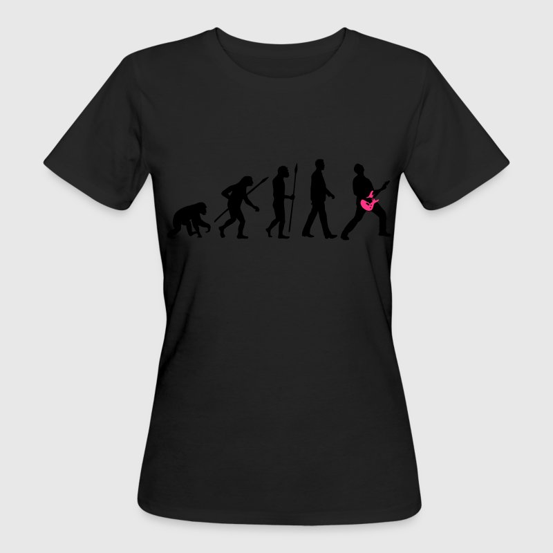 evolution_rocks_032012_d_2c T-Shirts - Frauen Bio-T-Shirt