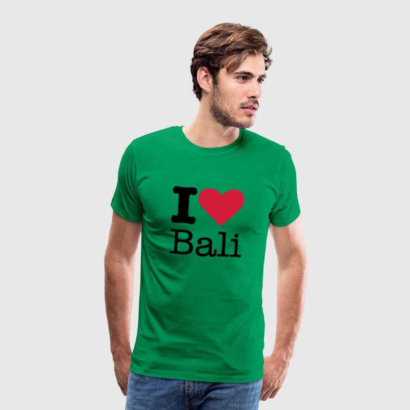 I Love Bali T-Shirts - Men's Premium T-Shirt