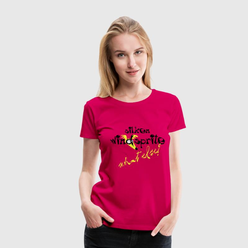 silken- what else? T-Shirts - Frauen Premium T-Shirt