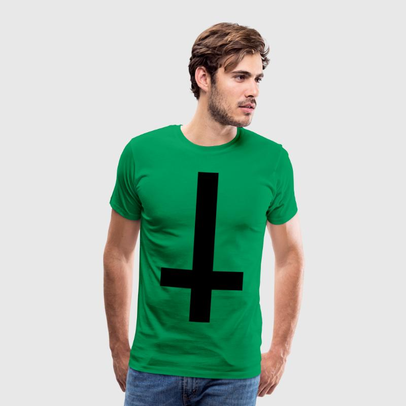 simple croix à l'envers - T-shirt Premium Homme
