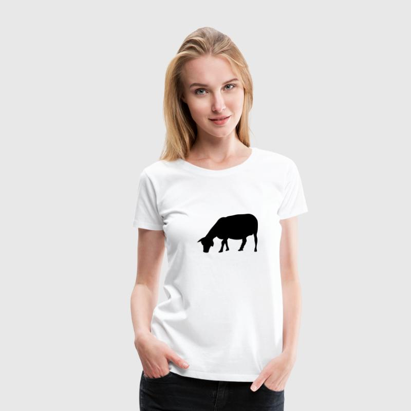 mouton sheep silhouette ombre shadow4 Tee shirts - T-shirt Premium Femme