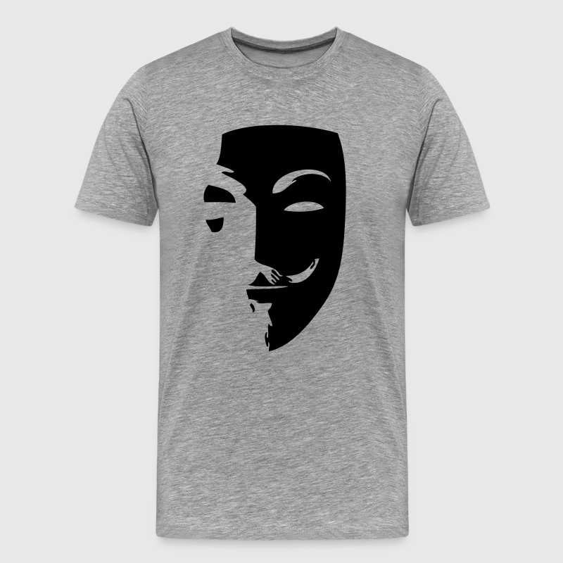 anonymous mask masque1 Tee shirts - T-shirt Premium Homme