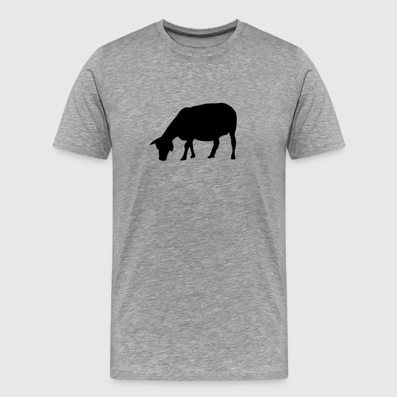 mouton sheep silhouette ombre shadow4 Tee shirts - T-shirt Premium Homme