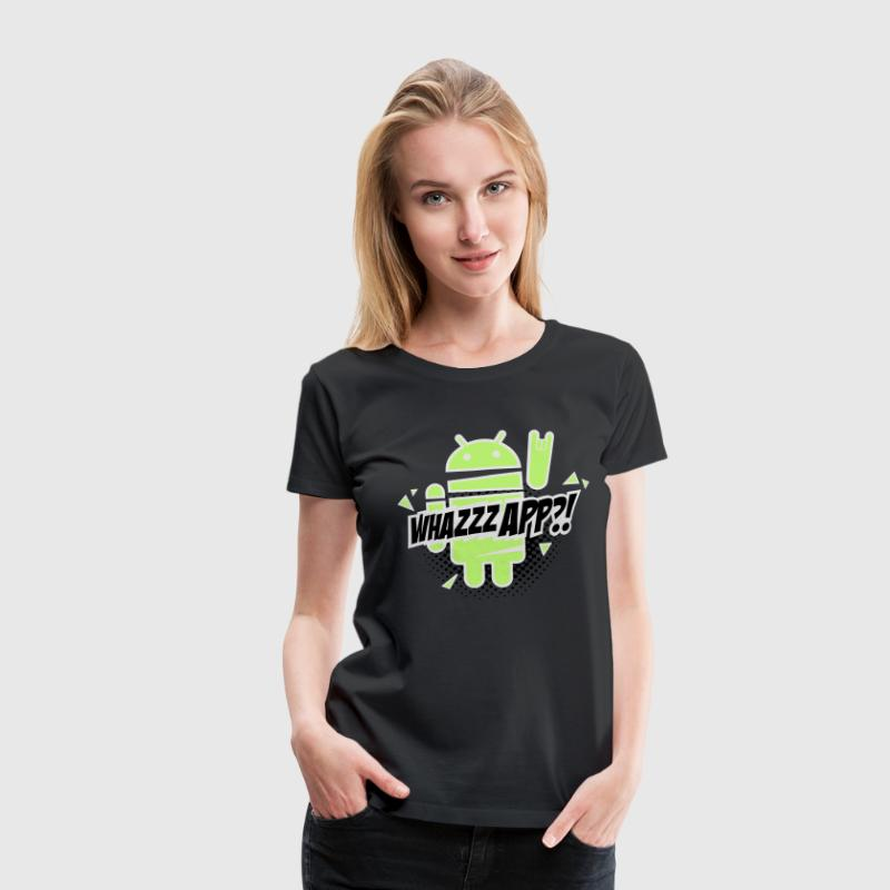Paranoid Android rocks Tee shirts - T-shirt Premium Femme