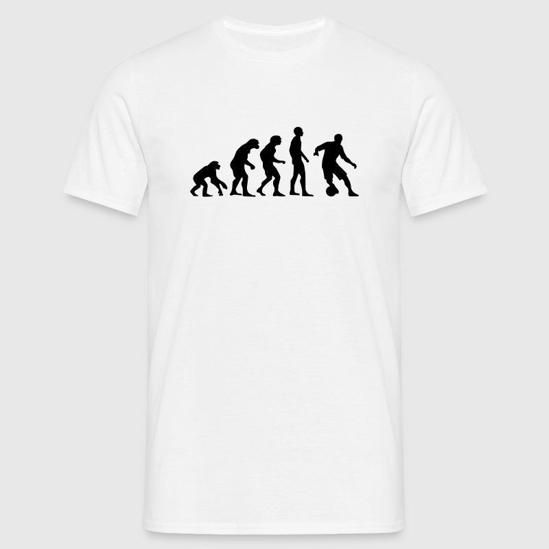 Football Evolution - Men's T-Shirt
