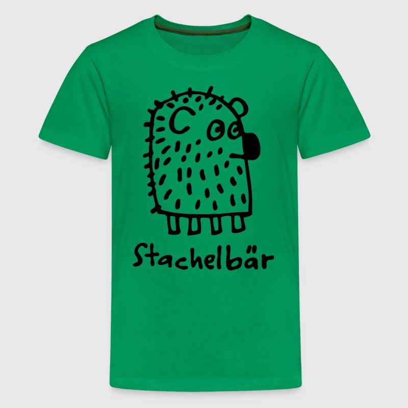 stachelbär Kinder T-Shirts - Teenager Premium T-Shirt