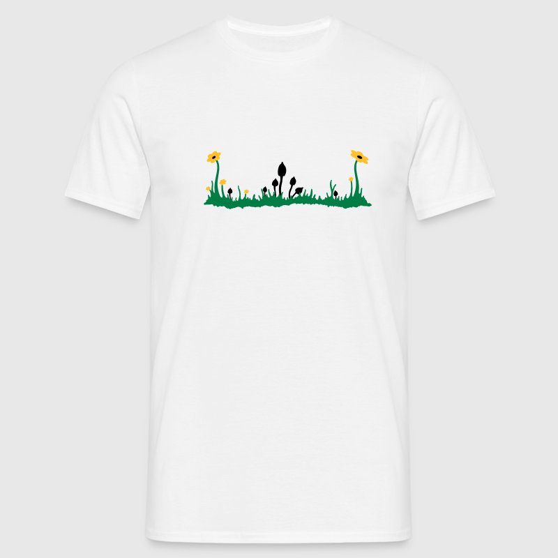 magic mushroom T-shirts - Herre-T-shirt