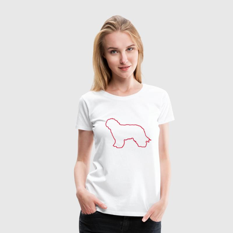 Dutch Sheepdog T-Shirts - Women's Premium T-Shirt