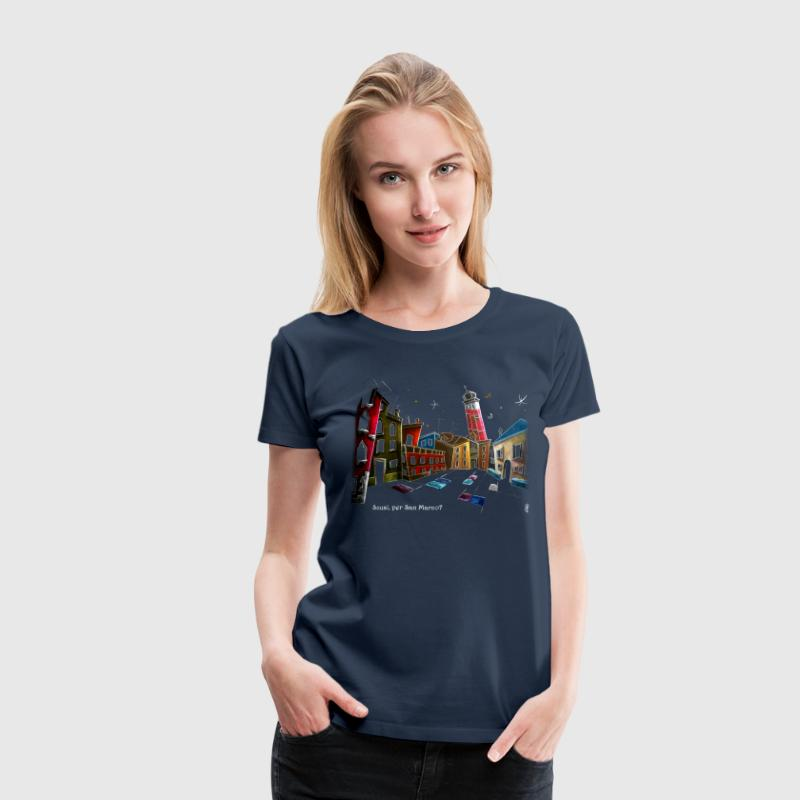 Campo Sant'Angelo in Venice Italy - Women's Premium T-Shirt