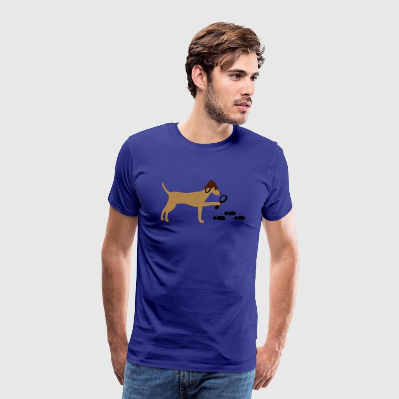 Search-and-rescue dog T-shirts - Mannen Premium T-shirt