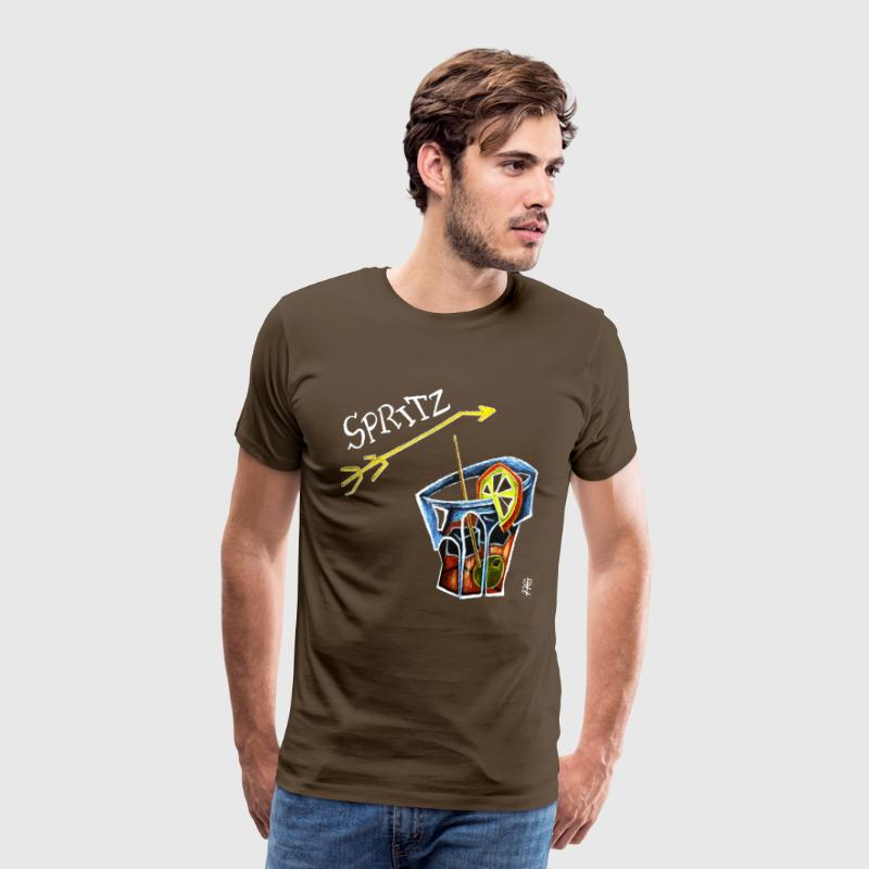 Sex Drugs and Spritz - Venice Italy - Men's Premium T-Shirt