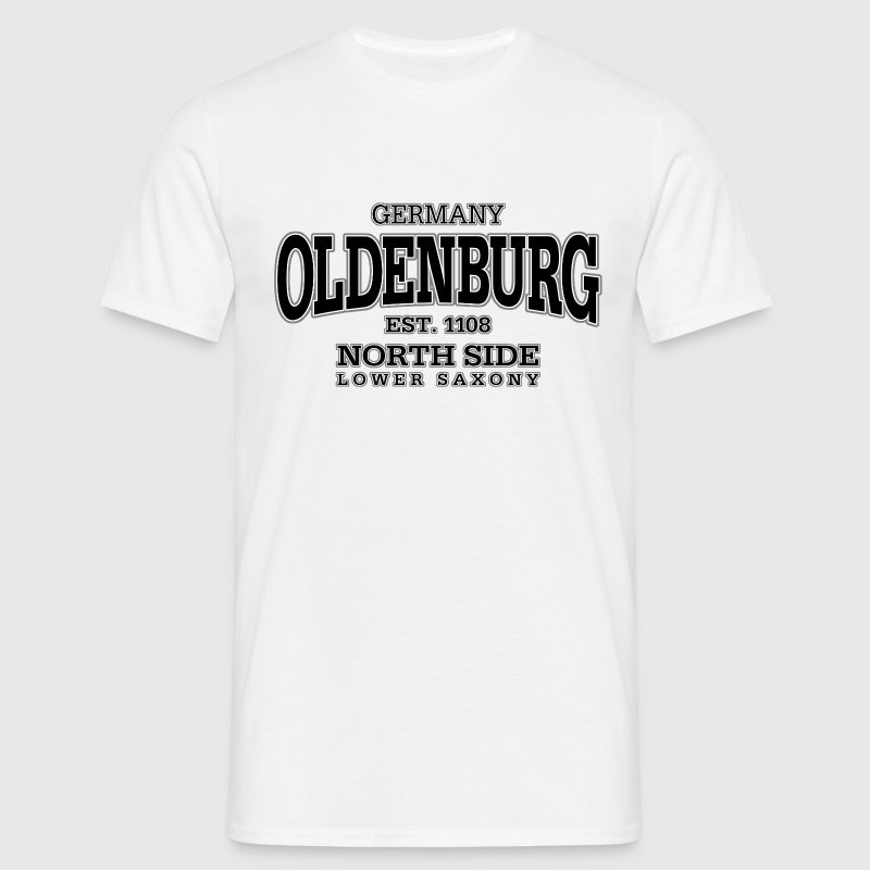 Oldenburg (black) - Männer T-Shirt