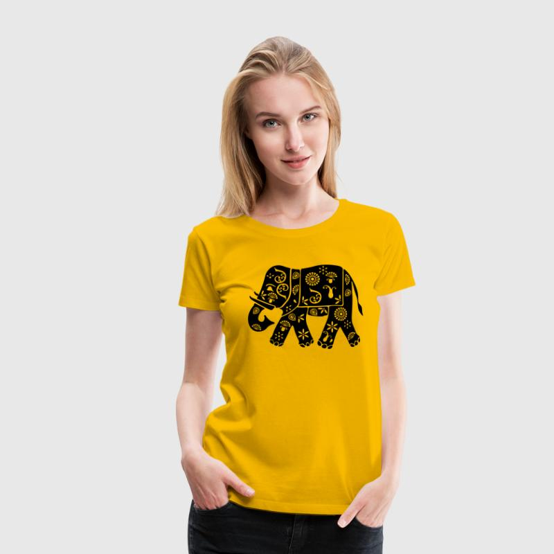 Indian elephant - Women's Premium T-Shirt