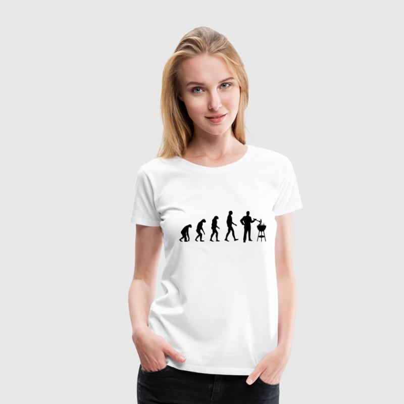 Evolution Grill T-Shirts - Frauen Premium T-Shirt