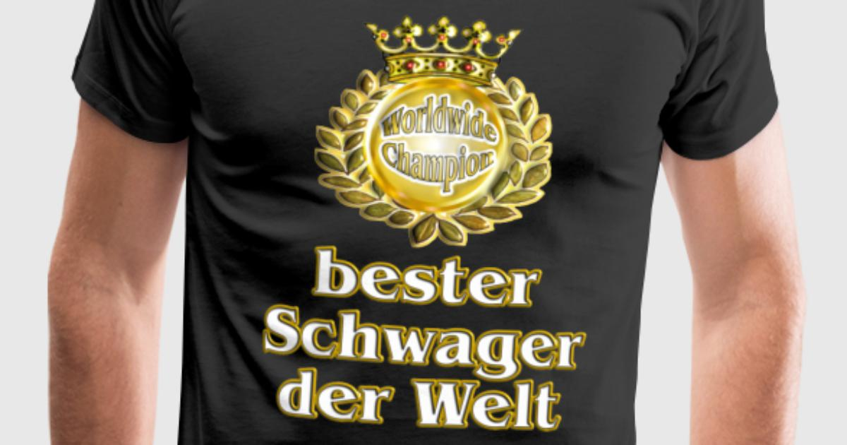 bester schwager der welt goldene serie t shirt spreadshirt. Black Bedroom Furniture Sets. Home Design Ideas