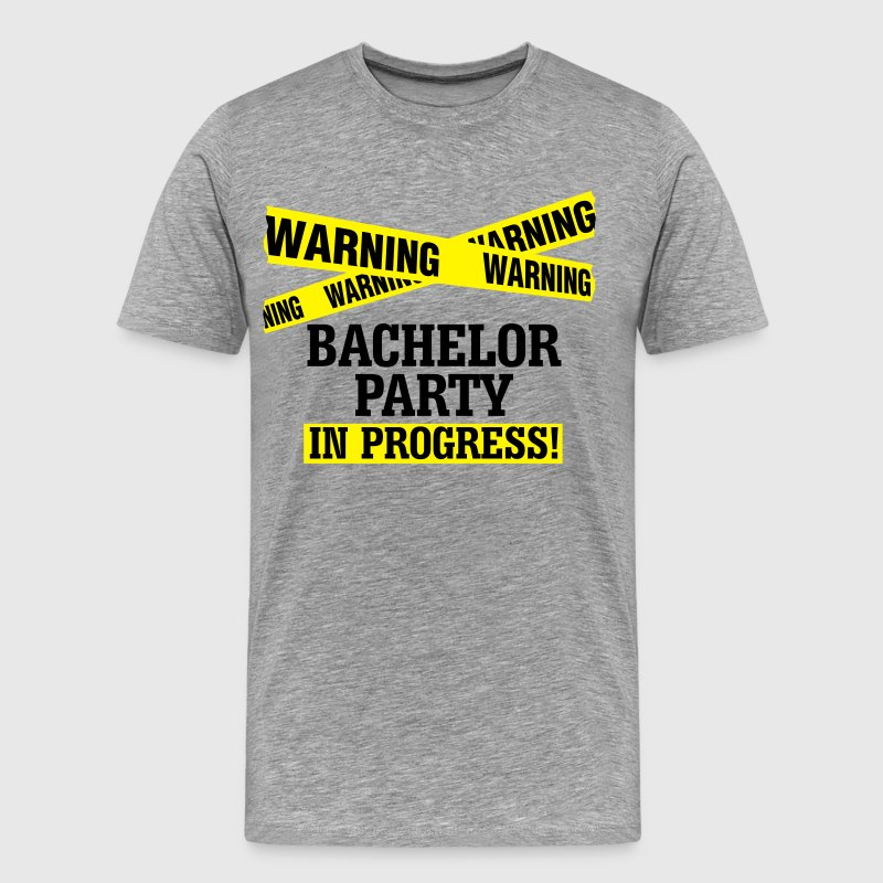Bachelor Party in Progress - Männer Premium T-Shirt