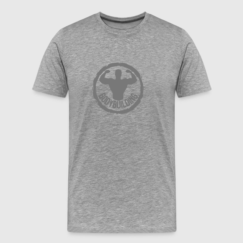 logo bodybuilding musculation cercle tam Tee shirts - T-shirt Premium Homme