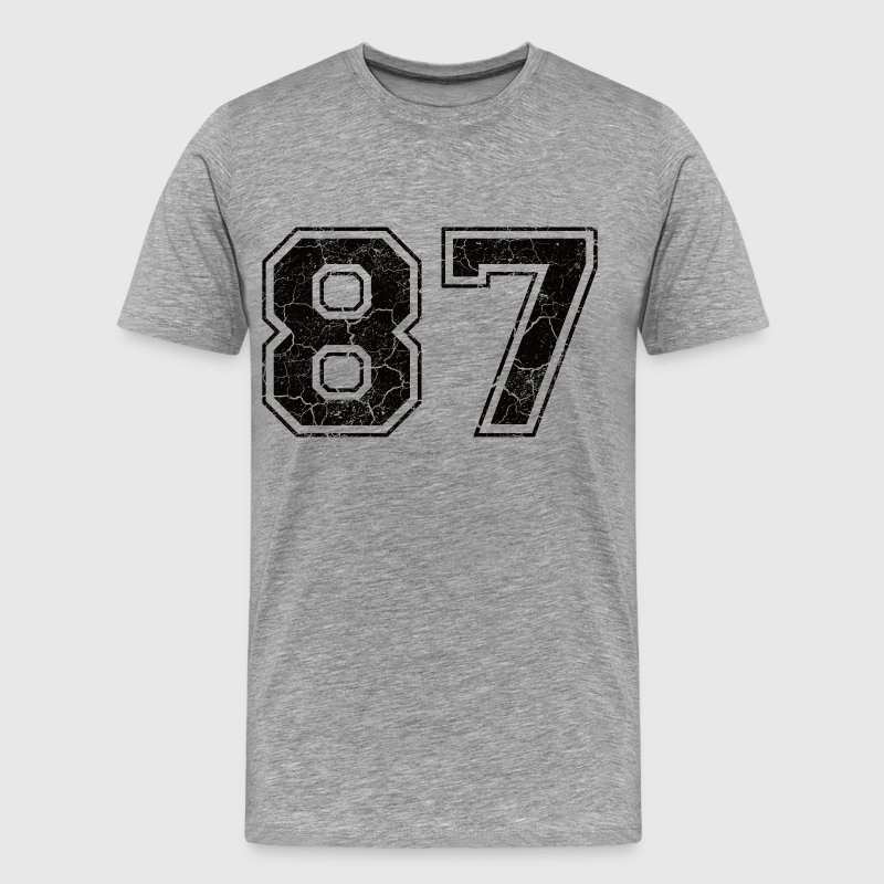 Pay 87 in Grunge Look T-Shirts - Men's Premium T-Shirt