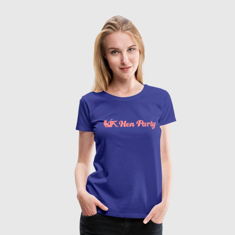 hen party girl T-Shirts - Women's Premium T-Shirt