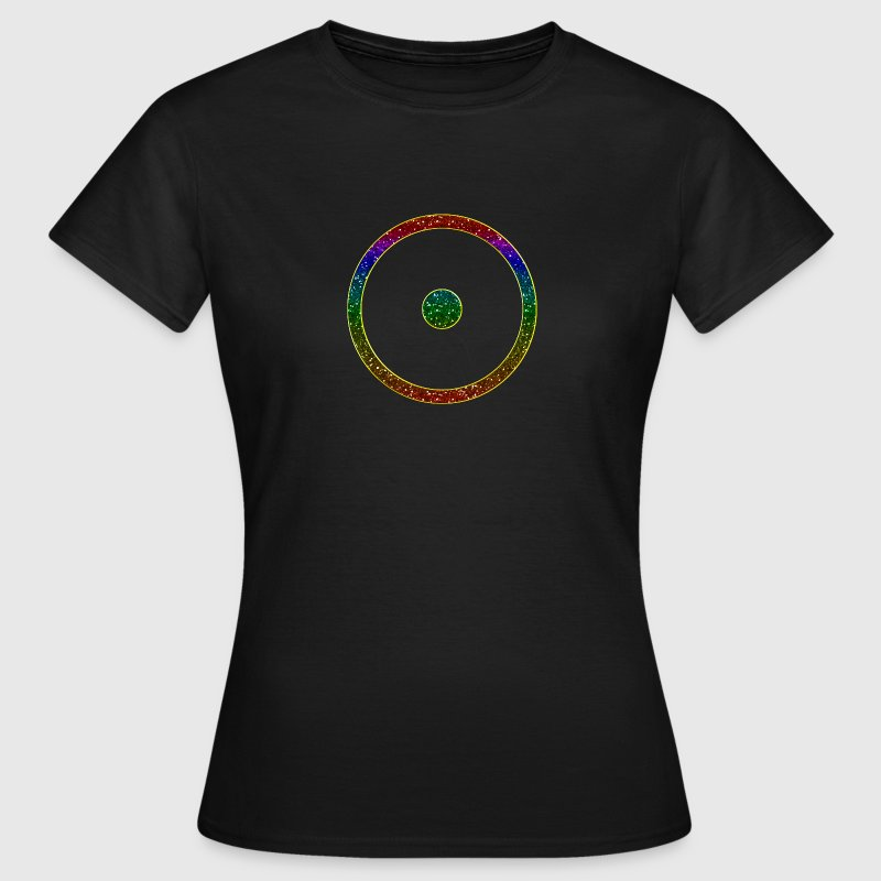 I AM - creator enabled - point in circle - digital - symbol of the creative universe, universal symbol - creator enabled-  T-Shirts - Women's T-Shirt
