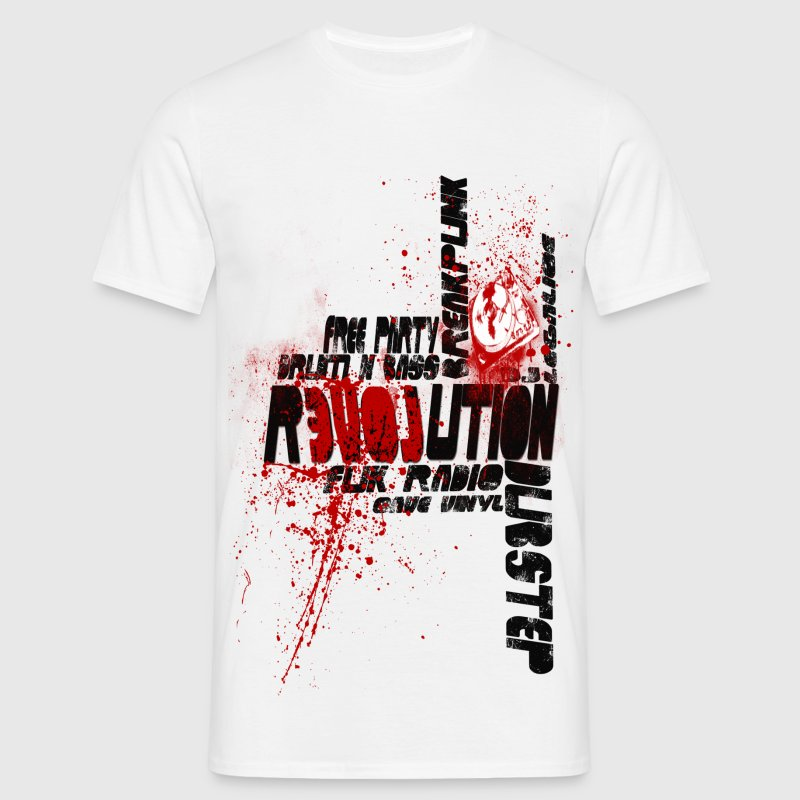 Relovution electro - T-shirt Homme