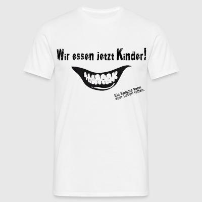 suchbegriff 39 ein komma kann leben retten 39 t shirts online bestellen spreadshirt. Black Bedroom Furniture Sets. Home Design Ideas