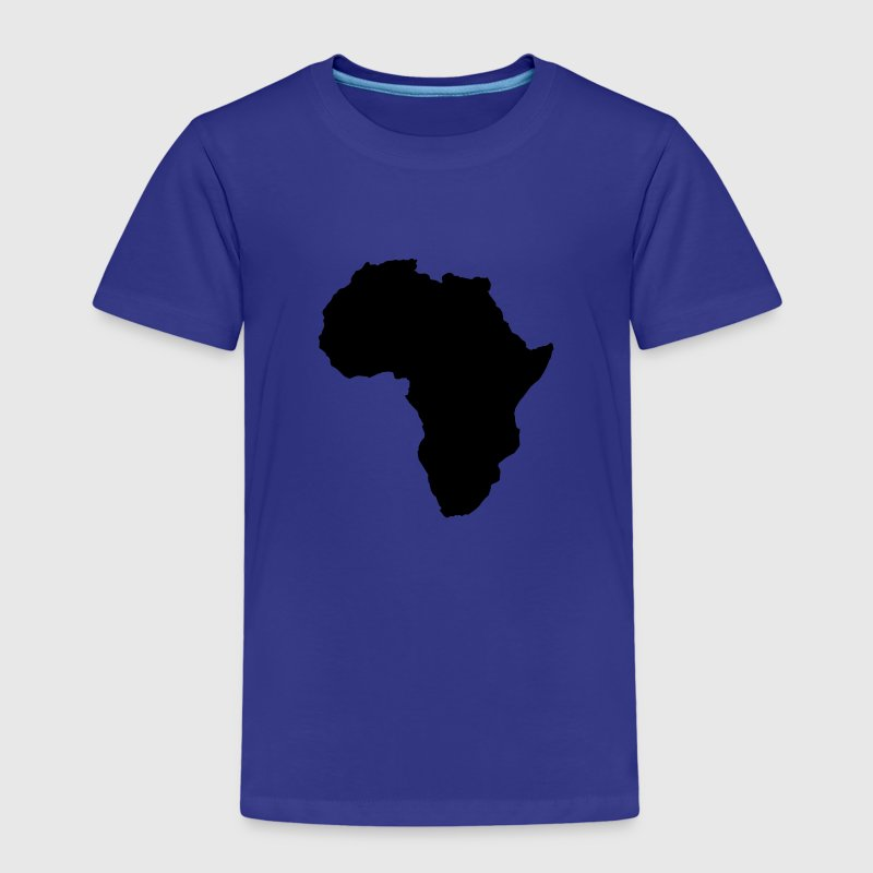 map world shape of africa Shirts - Kids' Premium T-Shirt