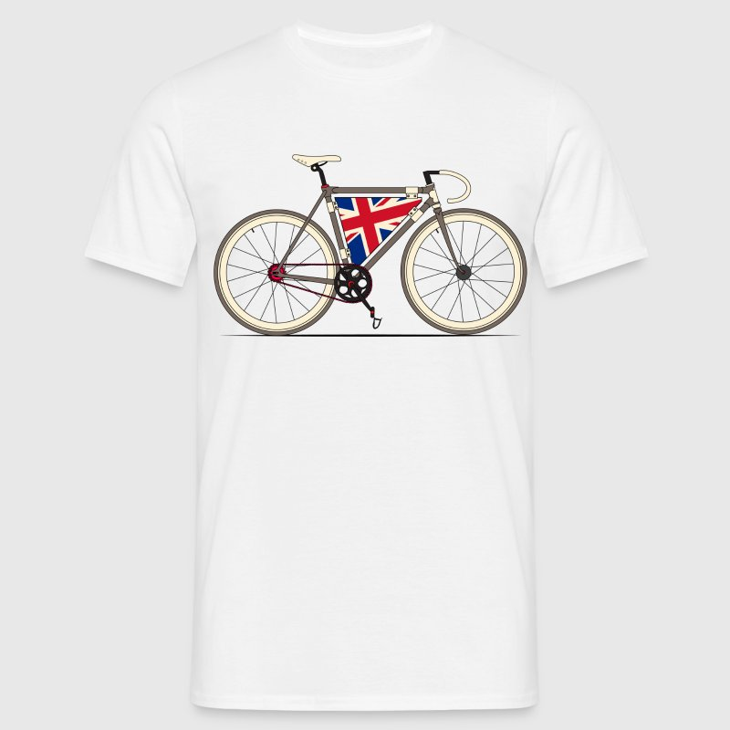 Love Bike, Love Britain T-Shirts - Men's T-Shirt
