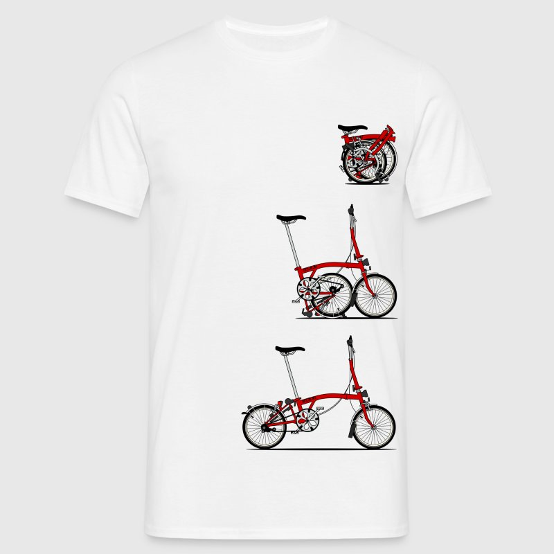 I Love My Folding Brompton Bike T-Shirts - Men's T-Shirt