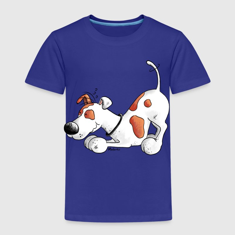 Jack Russell Terrier - dog breed - t-shirt design Shirts - Kids' Premium T-Shirt