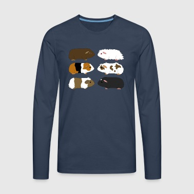 six guinea pigs 1 Tee shirts - T-shirt manches longues Premium Homme