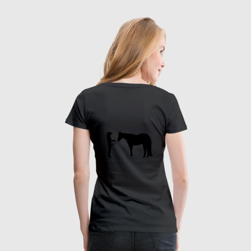 Showmanship at Halter T-Shirts - Frauen Premium T-Shirt