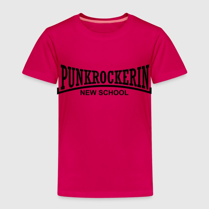 punkrockerin new school T-Shirts - Kinder Premium T-Shirt