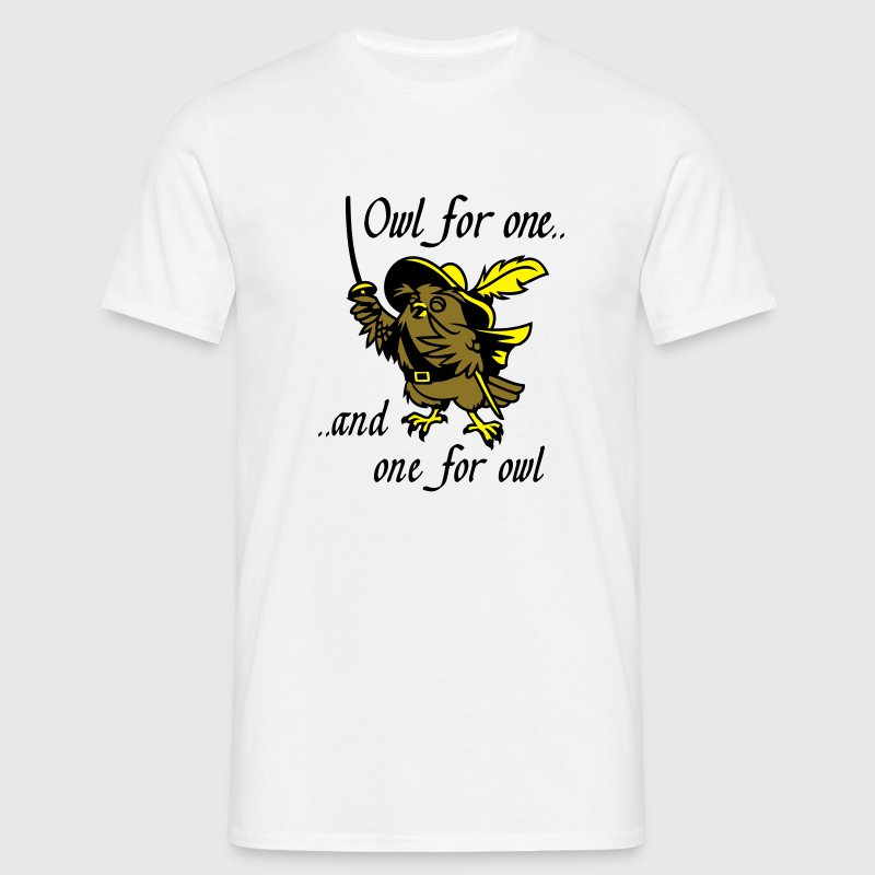 owl for one T-Shirts - Männer T-Shirt