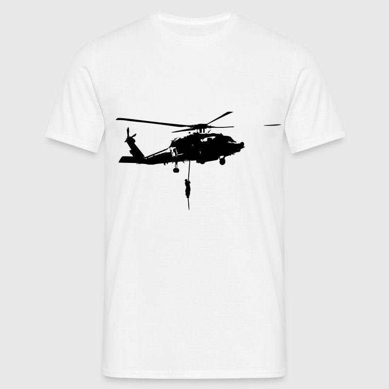Helico intervention forces speciales Tee shirts - T-shirt Homme
