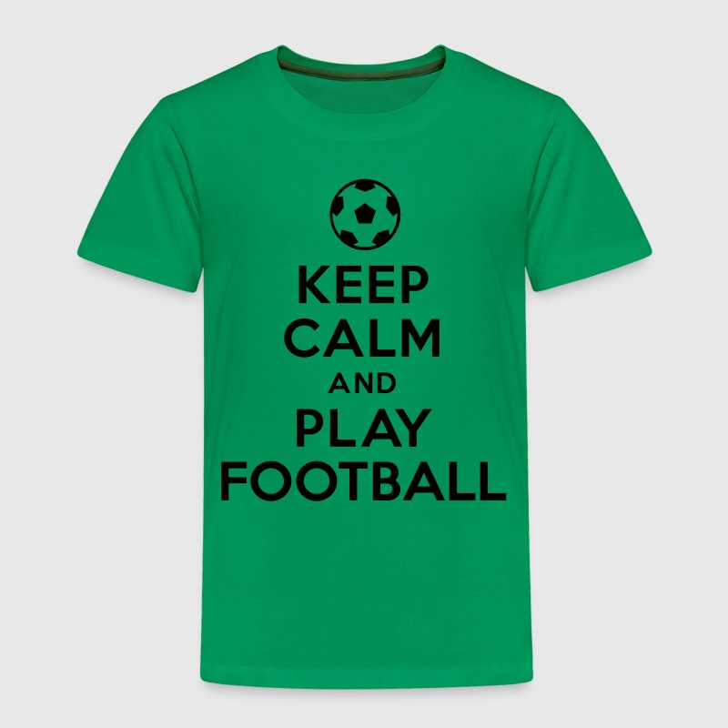 Keep calm and play Football Tee shirts - T-shirt Premium Enfant