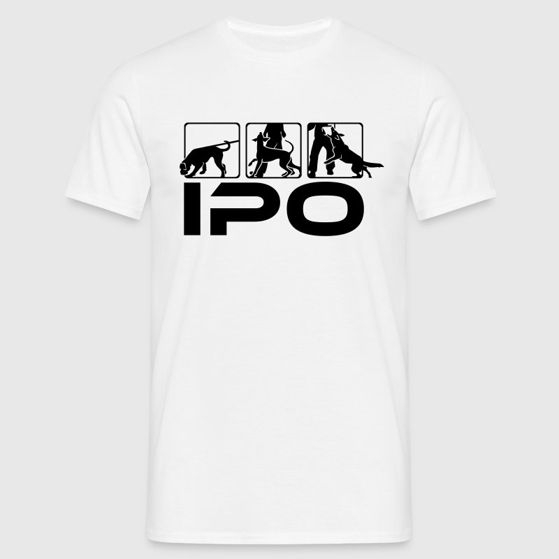 489 IPO Shepherd Doberman Boxer - Men's T-Shirt