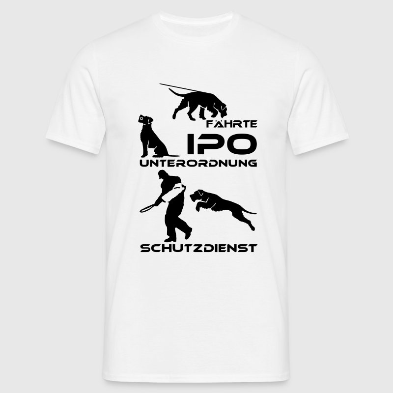 78 IPO (formerly VPG) Giant Schnauzer - Men's T-Shirt