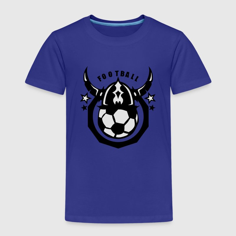 football casque viking logo club ballon Tee shirts - T-shirt Premium Enfant