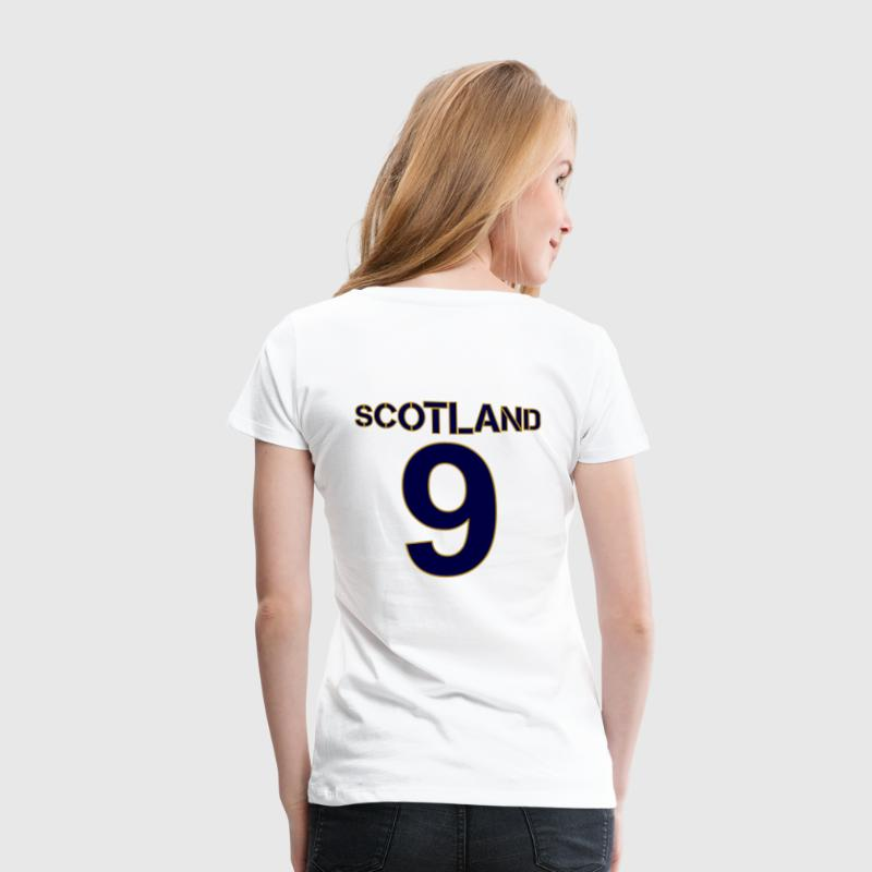 Tartan Army Girls Scotland Football shirt - Women's Premium T-Shirt