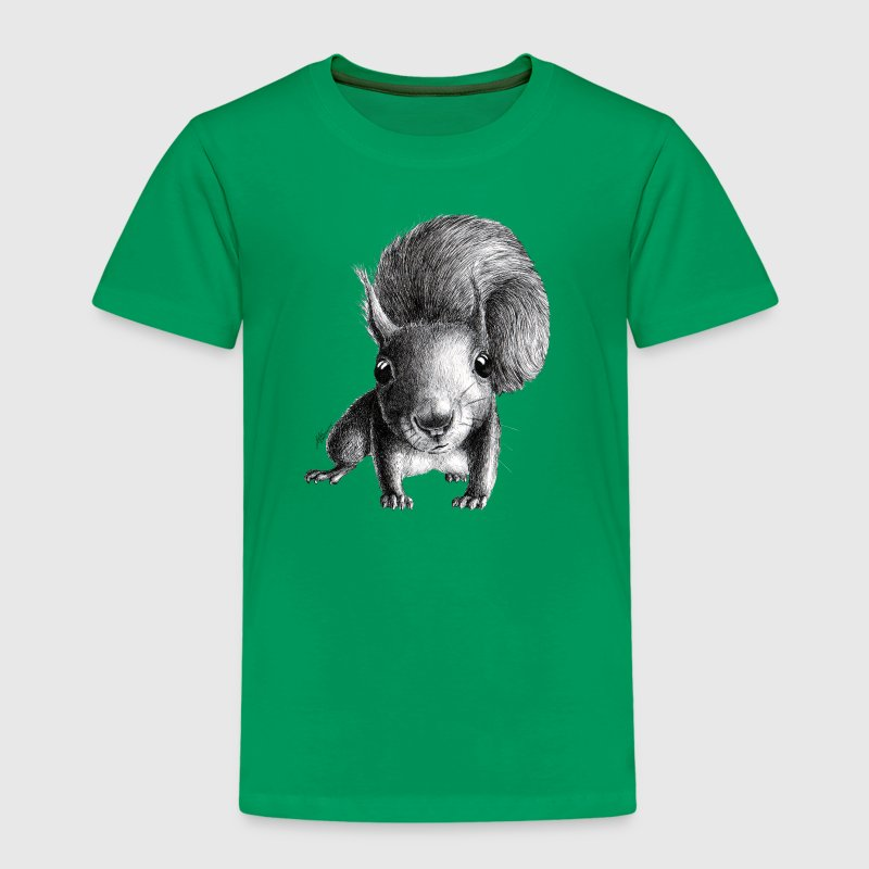 curious squirrel - Kids' Premium T-Shirt